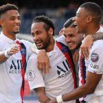 PSG toma ritmo goleando 7-0 al Waasland-Beveren