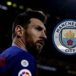 Messi empieza a seguir al Manchester City en redes sociales