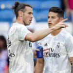 Zidane descarta a Bale y James para juego ante el Manchester City
