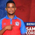 Olimpia oficializa la contratación de Samuel Córdova
