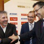 Finaliza la primera reunión entre Bartomeu y el padre de Messi sin acuerdo
