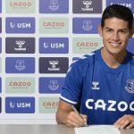 James Rodríguez deja al Real Madrid y ficha por el Everton