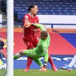 Portero del Everton tuvo que contratar guardaespaldas tras lesionar a Van Dijk