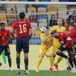 Una España sin gol pierde ante Ucrania en Kiev