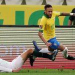 Neymar registra ante Bolivia mayor cantidad de regates