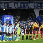 Nápoles honra a Maradona y Argentina con una camiseta especial blanca y celeste