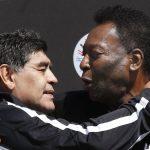 «Te amo Diego»: el nuevo mensaje de Pelé a Maradona