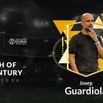 Pep Guardiola fue elegido como el mejor entrenador del Siglo XXI