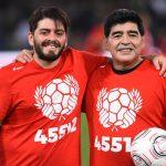 Hijo de Maradona pide retirar el dorsal '10' en todos los clubes donde jugó su padre