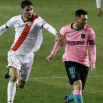 Messi y De Jong meten al Barcelona a cuartos de Copa del Rey