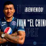 Motagua hace oficial el fichaje de Iván «Chino» López