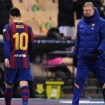 Messi, expulsado por primera vez en su carrera con el Barcelona