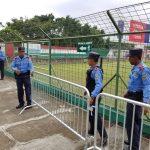 La Policía Nacional blinda el estadio Yankel Rosenthal