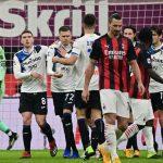 Milan cae ante Atalanta, pero sigue de líder