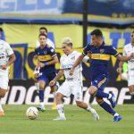 Santos rescató un empate ante Boca y la semifinal se define en Brasil