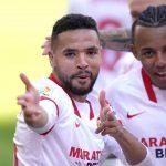 Un hat-trick de En-Nesyri le da el triunfo al Sevilla