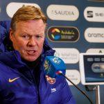 Koeman: «Tenemos esperanzas de que Messi juegue la final»