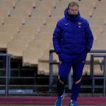 Koeman: «Estoy triste, al fútbol se juega para ganar títulos»