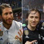 Ramos, Iniesta, Messi, Cristiano Ronaldo, Marcelo, Modric y Kroos en el 11 de la década