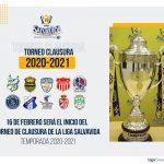 El 16 de febrero arrancará el torneo Clausura 2021