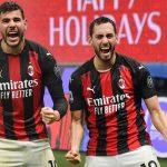 El AC Milan anuncia positivos al covid-19 de Theo Hernández y Calhanoglu