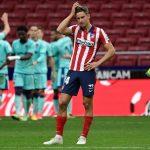 Atlético de Madrid pierde su invicto en casa ante Levante