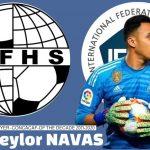 Keylor Navas, el mejor jugador de la Concacaf de la última década
