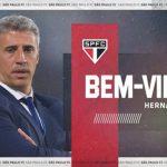 Hernán Crespo, nuevo técnico del Sao Paulo