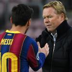 Koeman le responde al PSG tras la portada de France Fottball sobre Messi