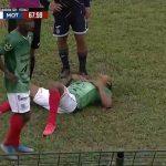 Luis Garrido sufre fractura en una costilla y estará dos meses de baja