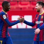 Barcelona derrota al Sevilla y toma fuerzas para la Copa