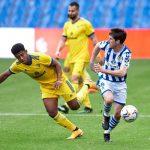 Real Sociedad golea 4-1 al Cádiz del «Choco» Lozano en la liga española