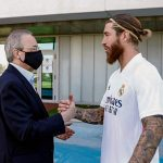 Revelan la llamada de Florentino Pérez a Sergio Ramos