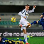Juventus empata 1-1 con Hellas Verona y se aleja del liderato de la Serie A