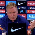 Koeman: «No veo que haya otros equipos mucho mejores que el Barcelona»