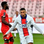 Doblete de Mbappé en goleada del PSG al Dijon