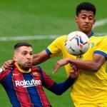 Barcelona y el Cádiz del «Choco» Lozano empatan 1-1