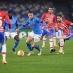 Napoli venció a Granada pero quedó fuera de Europa League