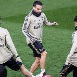 Dani Carvajal y Lucas Vázquez regresan a los entrenamientos en grupo con el Real Madrid