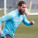Sergio Ramos vuelve a entrenarse con el grupo
