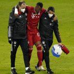 Boateng sufre una lesión de rodilla menos grave de lo que se temía