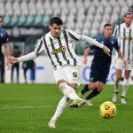 Morata marca un doblete en el triunfo del Juventus ante el Torino