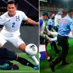 Terrible lesión de Denil Maldonado en la final del Preolímpico; sufre esguince grado dos