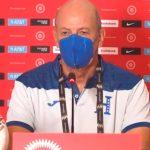 Miguel Falero tras el empate ante El Salvador: «No tuvimos suerte para concretar y llevarnos los tres puntos»