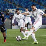 Real Madrid clasifica a cuartos de Champions tras eliminar al Atalanta