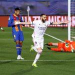 Real Madrid derrota 2-1 al Barcelona y se pone de líder en la Liga española