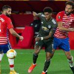 El Manchester United baja de la nube europea al Granada