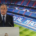 Florentino Pérez: «Estoy triste y decepcionado, nunca había visto esta agresividad»