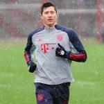 Lewandowski vuelve a entrenarse con el Bayern