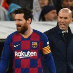 Zidane: «Messi que se quede en el Barcelona, está bien ahí»
